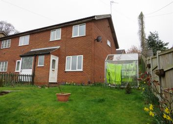 Thumbnail 2 bed end terrace house for sale in Highlow Road, New Costessey, Norwich