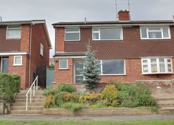 Thumbnail 3 bed semi-detached house to rent in Park Rise, Leicester