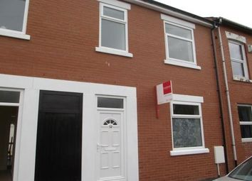 Thumbnail 3 bed terraced house to rent in Parker Street, Preston