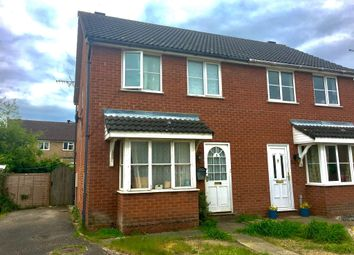 Thumbnail 3 bedroom semi-detached house for sale in Seckar Drive, Scarning, Dereham