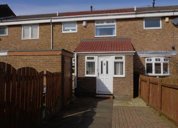 Thumbnail 3 bed terraced house for sale in Rhuddlan Court, Westerhope, Newcastle Upon Tyne