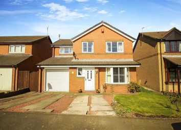 Thumbnail 4 bed detached house for sale in Birchwood Close, Seghill, Northumberland