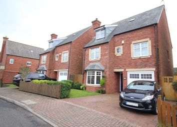 Thumbnail 4 bed detached house for sale in Stockdale Drive, Warrington, Cheshire