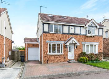 Thumbnail 4 bedroom semi-detached house for sale in Earlswood Chase, Pudsey