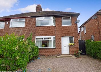 Thumbnail 3 bed semi-detached house for sale in Newfield Drive, Crewe