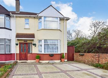 Thumbnail 3 bed end terrace house for sale in Knockhall Road, Greenhithe, Kent