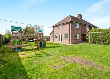 Thumbnail 3 bedroom semi-detached house for sale in Little Green, Burgate, Diss