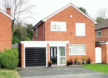 Thumbnail 3 bed detached house for sale in Sherwood Close, Hall Green, Birmingham