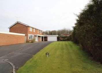 Thumbnail 4 bed detached house for sale in Meadow View, Rolleston-On-Dove, Burton-On-Trent