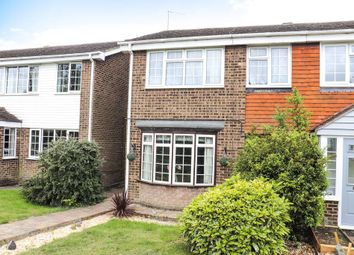 Thumbnail 2 bed semi-detached house for sale in Herdsdown, Hoo, Rochester