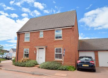Thumbnail 3 bed detached house for sale in Swallow Way, Cullompton