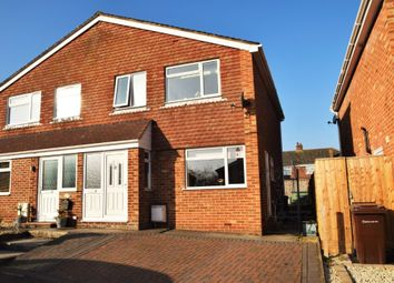 Thumbnail 3 bed semi-detached house for sale in Field Gardens, East Challow