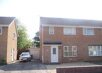 Thumbnail 3 bed property to rent in Fallowfield, Worle, Weston-Super-Mare