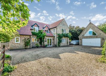 Thumbnail 4 bed detached house for sale in Church Lane, Old Somerby, Grantham
