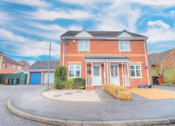 Thumbnail 2 bed semi-detached house for sale in Falaise Way, Hilton, Derby