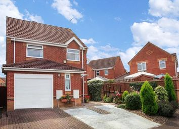 Thumbnail 3 bedroom detached house for sale in Curlew Grove, Stanground, Peterborough, Cambridgeshire.