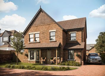 Thumbnail 4 bed detached house for sale in Plot 1 Gayton Chase, Gayton Road, Lower Heswall
