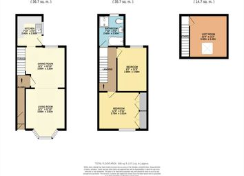 Thumbnail 2 bedroom property to rent in Trelawney Avenue, St. George, Bristol