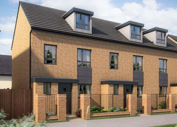 "Thumbnail 3 bed town house for sale in ""The Willen"" at Limousin Avenue, Whitehouse, Milton Keynes"