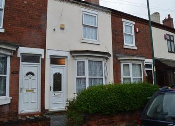 Thumbnail 2 bed terraced house for sale in Pargeter Street, Walsall