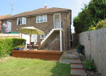 Thumbnail 1 bed semi-detached bungalow for sale in Arundel Road, Newhaven