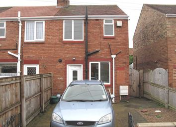 Thumbnail 2 bed semi-detached house to rent in Queens Gardens, Annitsford, Cramlington