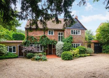 Thumbnail 4 bed detached house for sale in Byfleet Road, Cobham, Surrey