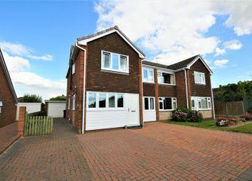 Thumbnail 4 bed semi-detached house for sale in Henhurst Ridge, Burton-On-Trent