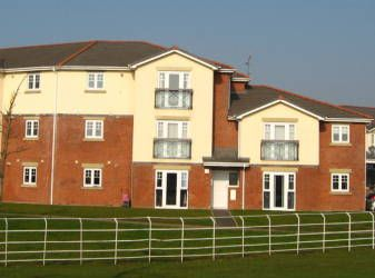 Thumbnail 2 bed flat to rent in Newbold Court, St Helens