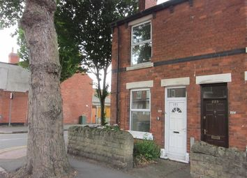 Thumbnail 2 bed end terrace house to rent in Vernon Road, Basford, Nottingham