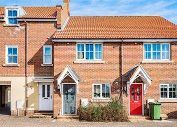 Thumbnail 2 bed terraced house for sale in Lobelia Close, Wymondham, Norfolk