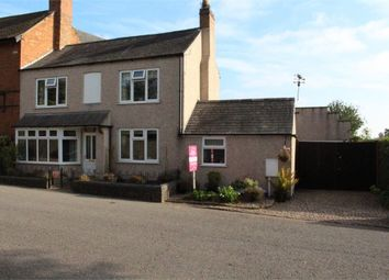 Thumbnail 4 bed semi-detached house for sale in Long Street, Stoney Stanton, Leicester