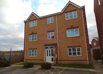 Thumbnail 2 bed flat to rent in Sandringham Court, Streethouse