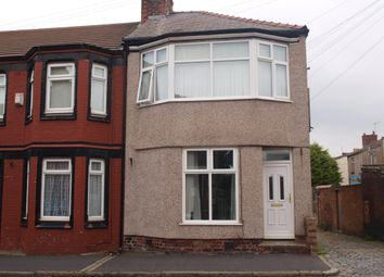 Thumbnail 3 bed end terrace house to rent in Corinthian Street, Rock Ferry, Birkenhead