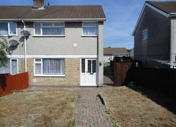Thumbnail 3 bed semi-detached house to rent in St Mellons Court, St Martins Estate, Caerphilly