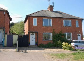 Thumbnail 2 bedroom semi-detached house for sale in Station Road, Brixworth, Northampton