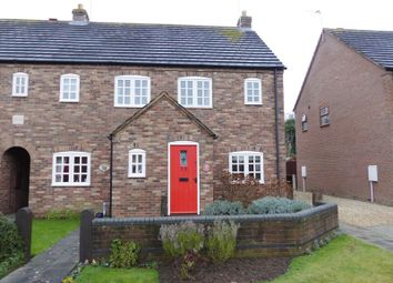 Thumbnail 2 bed terraced house for sale in Paddock Lane, Metheringham, Lincoln