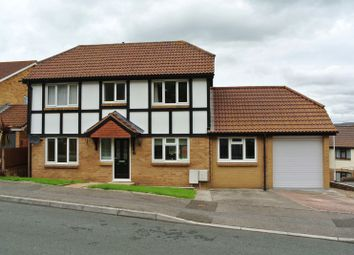 Thumbnail 3 bed detached house for sale in Almond Drive, Plympton, Plymouth