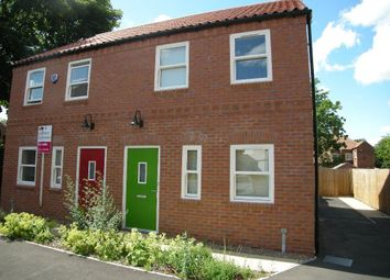 Thumbnail 3 bed semi-detached house to rent in Elizabethan Gardens, Retford