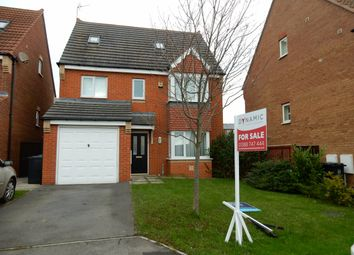 Thumbnail 5 bedroom detached house for sale in Larmouth Court, Willington, Crook