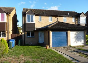 Thumbnail 3 bed semi-detached house to rent in Isis Avenue, Bicester