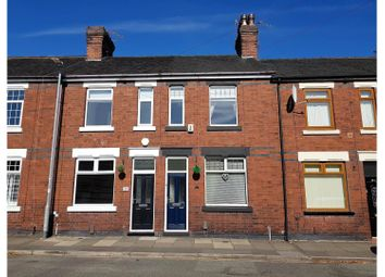 Thumbnail 2 bed terraced house for sale in All Saints Road Stoke, Stoke-On-Trent