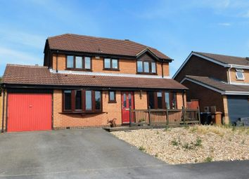Thumbnail 4 bed detached house for sale in Buckingham Close, Groby, Leicester