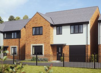"Thumbnail 4 bed detached house for sale in ""The Harley"" at Bridge Road, Old St. Mellons, Cardiff"