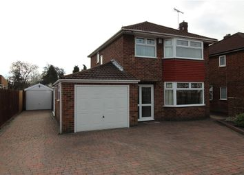 Thumbnail 3 bed detached house for sale in Reginald Road South, Chaddesden, Derby