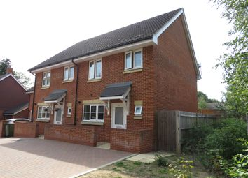 Thumbnail 3 bed semi-detached house for sale in Shafford Meadows, Hedge End, Southampton