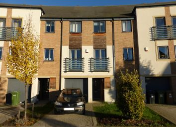 Thumbnail 3 bedroom town house for sale in Albert Crescent, Hampton Vale, Peterborough