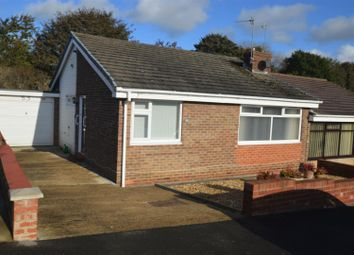 Thumbnail 2 bed bungalow for sale in Rothbury Road, Newton Hall, Durham