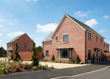 "Thumbnail 4 bed detached house for sale in ""The Mylne"" at Gidding Road, Sawtry, Huntingdon"