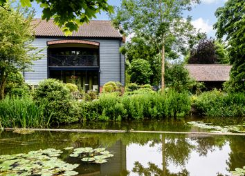 Thumbnail 4 bedroom barn conversion for sale in Lenwade Mill, Lenwade, Norwich